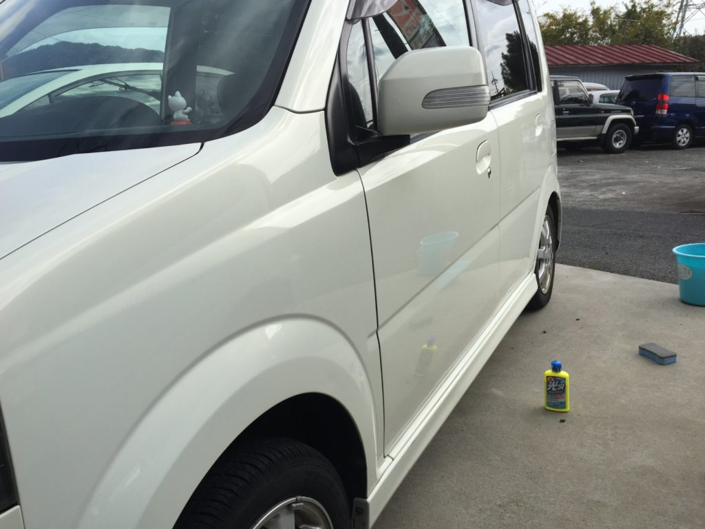 洗車後の写真1