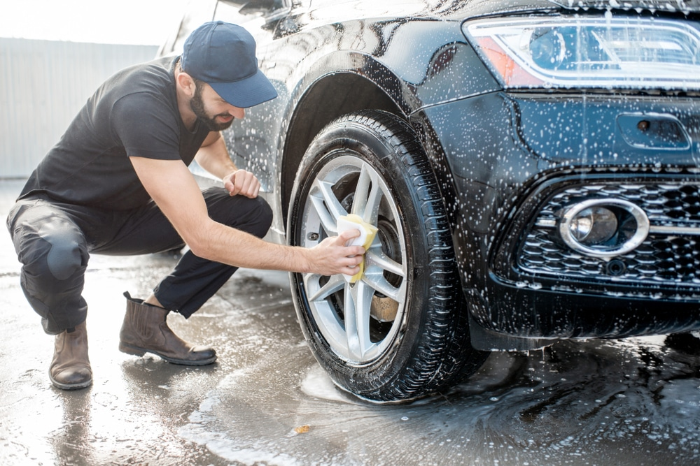 タイヤ・ホイール洗浄