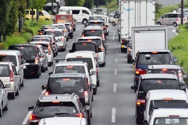 渋滞が激しい